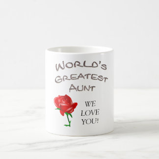 World's Greatest Aunt Coffee Mug