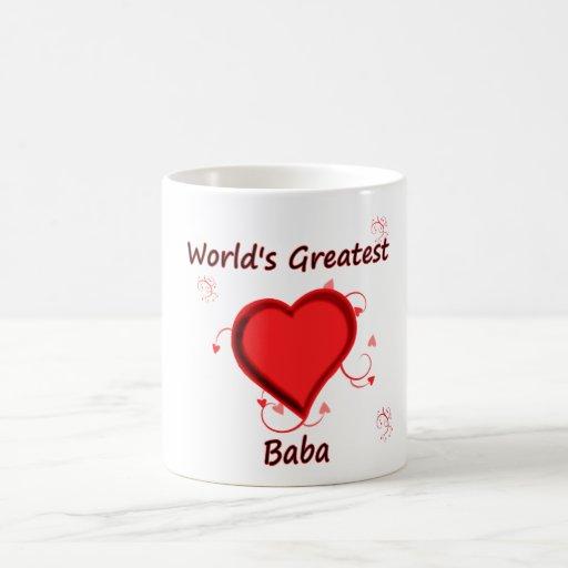 World's Greatest baba Coffee Mugs