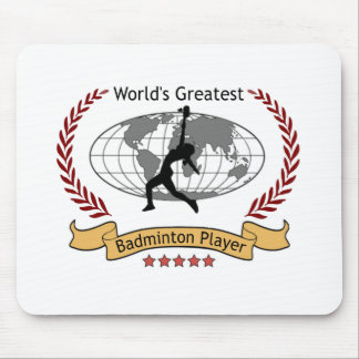 World's Greatest Badminton Player (Women) Mouse Pad