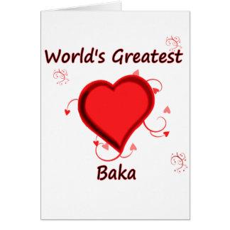 World's Greatest baka Card