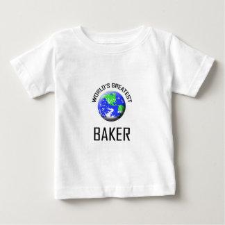 World's Greatest Baker Baby T-Shirt