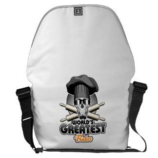 World's Greatest Baker v7 Messenger Bags
