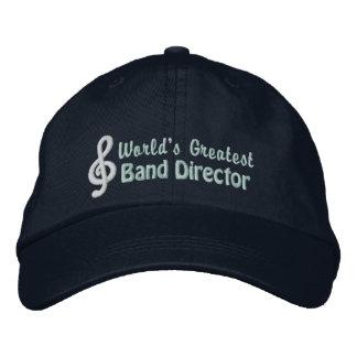 World's Greatest Band Director Baseball Cap