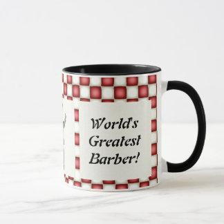 World's Greatest Barber mug
