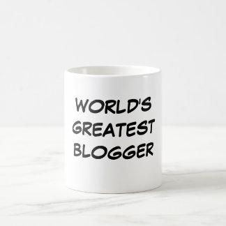 """World's Greatest Blogger"" Mug"
