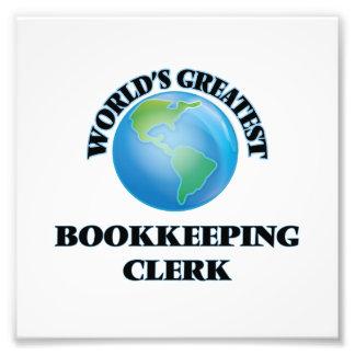 World's Greatest Bookkeeping Clerk Photo
