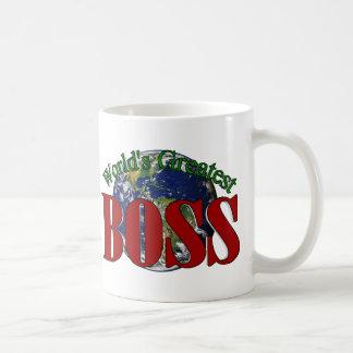 World's Greatest Boss Coffee Cup Coffee Mugs