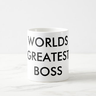 WORLDS GREATEST BOSS COFFEE MUG