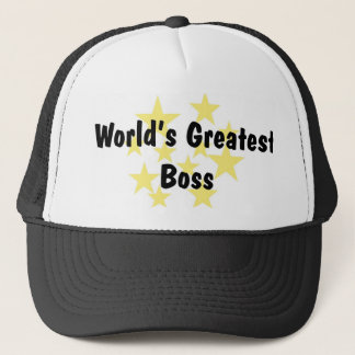 World's Greatest Boss Hat