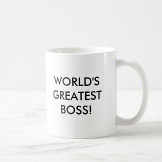 WORLD'S GREATEST BOSS MUG