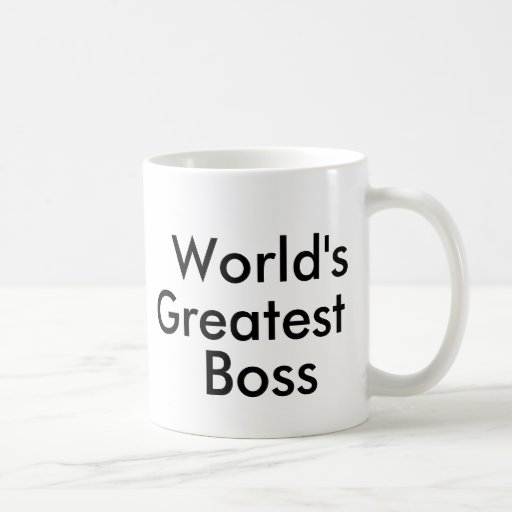 World's, Greatest, Boss Mugs