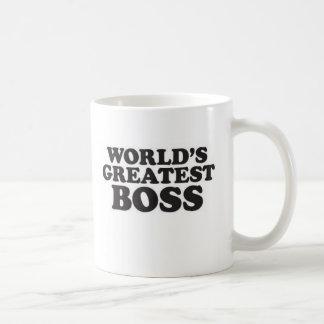 World's Greatest Boss Basic White Mug