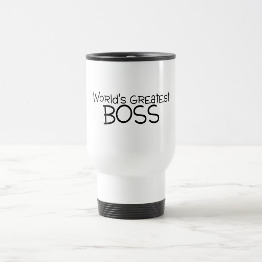 Worlds Greatest Boss Mug