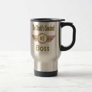 World's Greatest Boss Stainless Steel Travel Mug