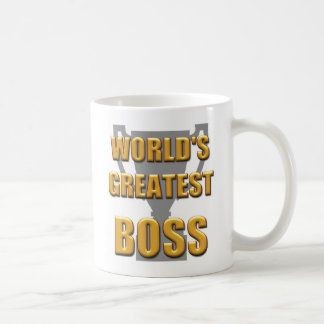 World's greatest Boss mug. Great for the office Coffee Mug
