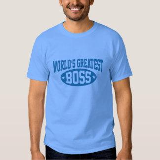 World's Greatest Boss Tshirts