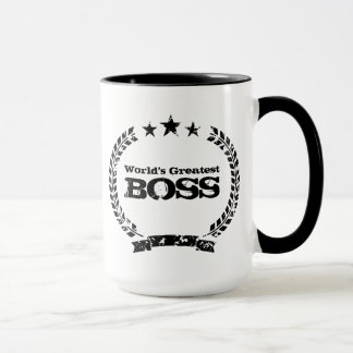 World's Greatest Boss | Vintage coffee mug