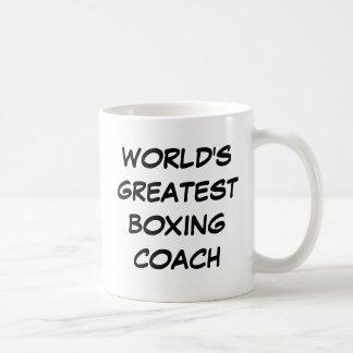 """""""World's Greatest Boxing Coach"""" Mug"""