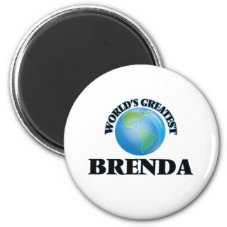 World's Greatest Brenda Refrigerator Magnet