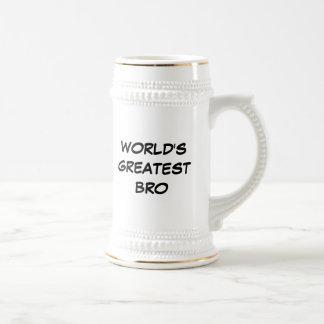 """""""World's Greatest Bro"""" Stein"""