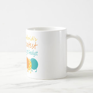 World's Greatest Budget Analyst Basic White Mug