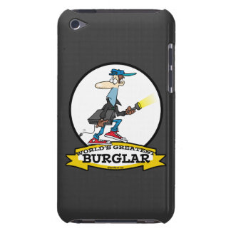 WORLDS GREATEST BURGLAR MEN CARTOON BARELY THERE iPod CASES