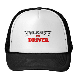 World's Greatest Bus Driver Cap