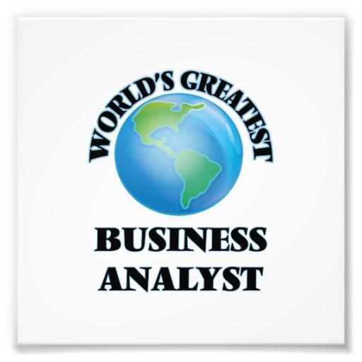 World's Greatest Business Analyst Photo Art