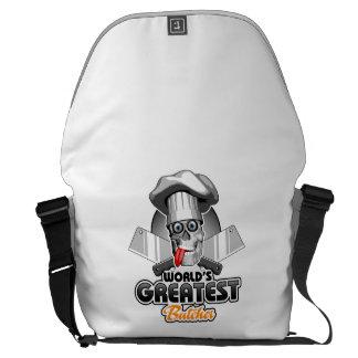 World's Greatest Butcher v3 Commuter Bags
