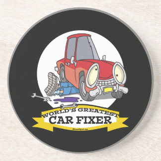 WORLDS GREATEST CAR FIXER CARTOON COASTER