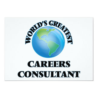 World's Greatest Careers Consultant Cards