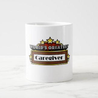 World's Greatest Caregiver Jumbo Mug