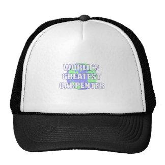 World's Greatest Carpenter Trucker Hat