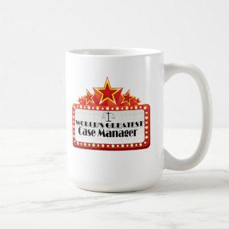 World's Greatest Case Manager Basic White Mug