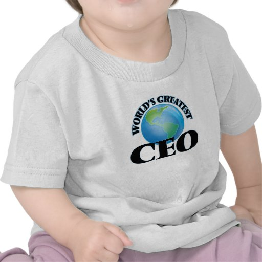 World's Greatest Ceo T Shirt