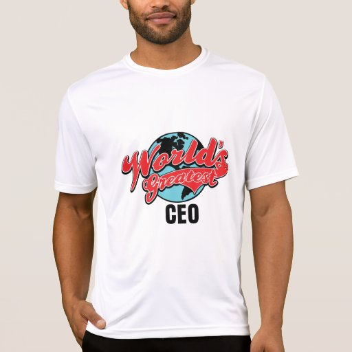 Worlds Greatest CEO Tshirts