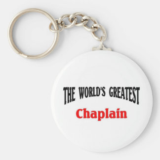 World's greatest Chaplain Key Ring