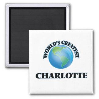 World's Greatest Charlotte Refrigerator Magnet