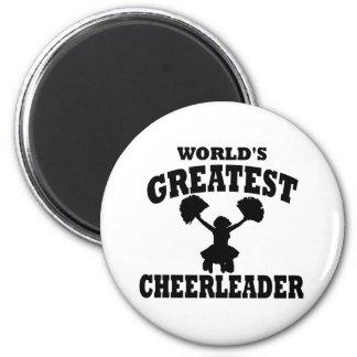 World's Greatest cheerleader Magnet