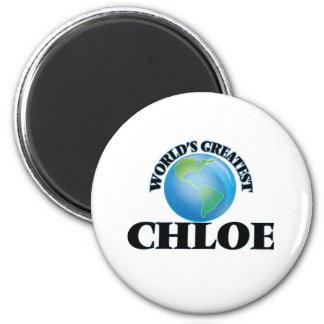 World's Greatest Chloe Refrigerator Magnet
