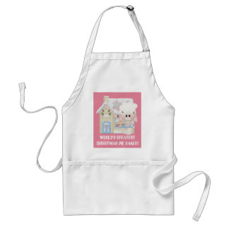 World's Greatest Christmas Pie Baker apron