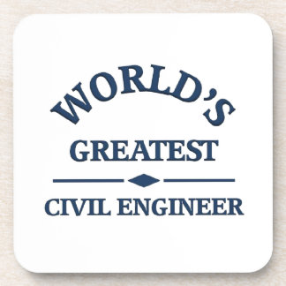 World's greatest Civil Engineer Drink Coasters