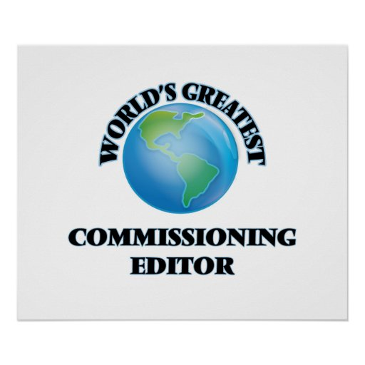 World's Greatest Commissioning Editor Poster