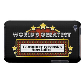 World's Greatest Computer Forensics Specialist Barely There iPod Covers