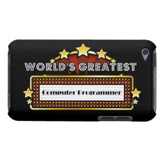 World's Greatest Computer Programmer iPod Touch Cases