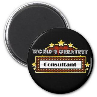 World's Greatest Consultant Fridge Magnets