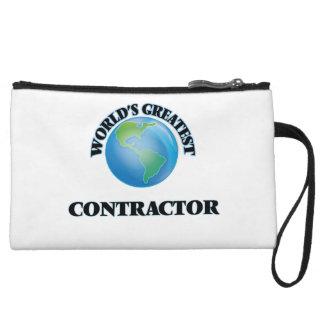 World's Greatest Contractor Wristlet Purses
