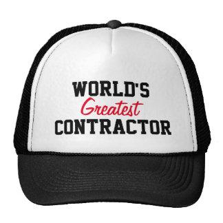 World's greatest contractor cap