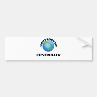 World's Greatest Controller Bumper Sticker
