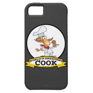 WORLDS GREATEST COOK MEN CARTOON iPhone 5 CASE